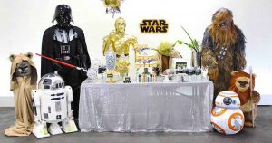 Star wars birthday party 2