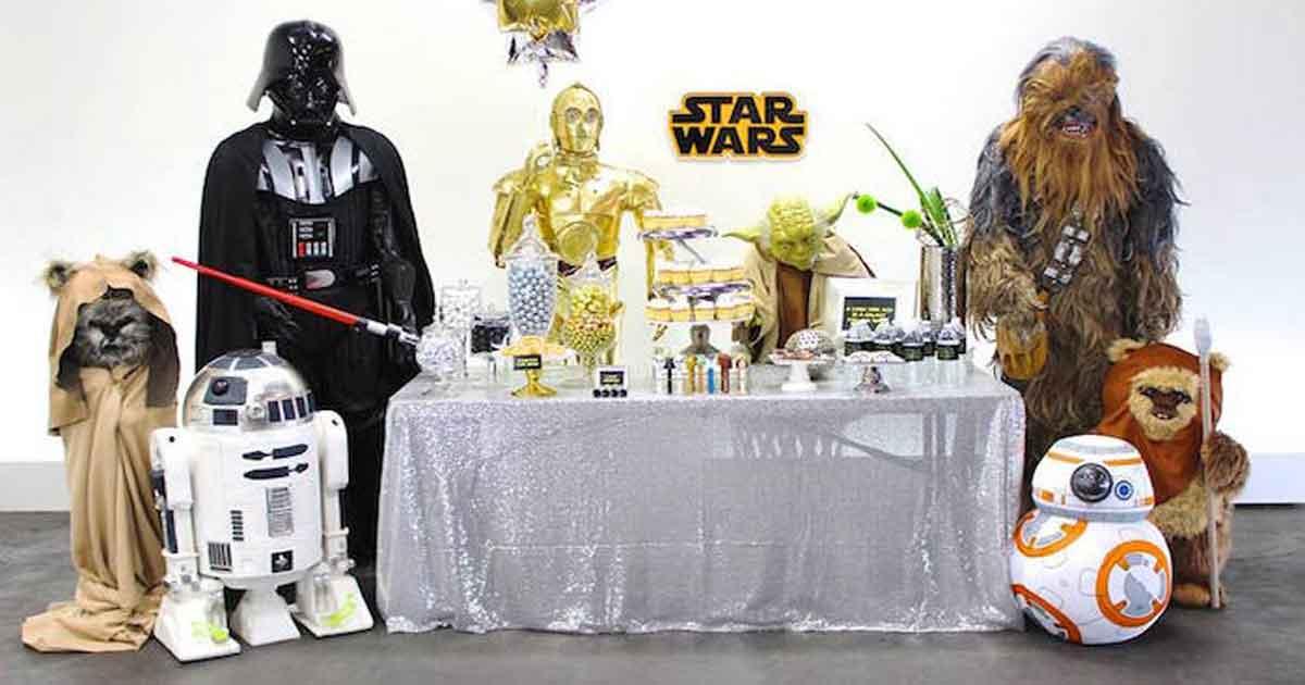 Star wars birthday party 2