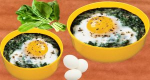 Baked Eggs With Spinach Recipe Right Now